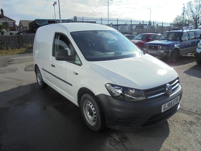 2016 Volkswagen Caddy 2.0 Tdi Bluemotion Tech 102Ps Startline Van (GJ66ETK)