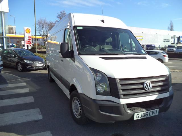 2016 Volkswagen Crafter  LWB CR35 2.0TDI 136PS HIGH ROOF VAN EURO 5 (GJ66CVU)