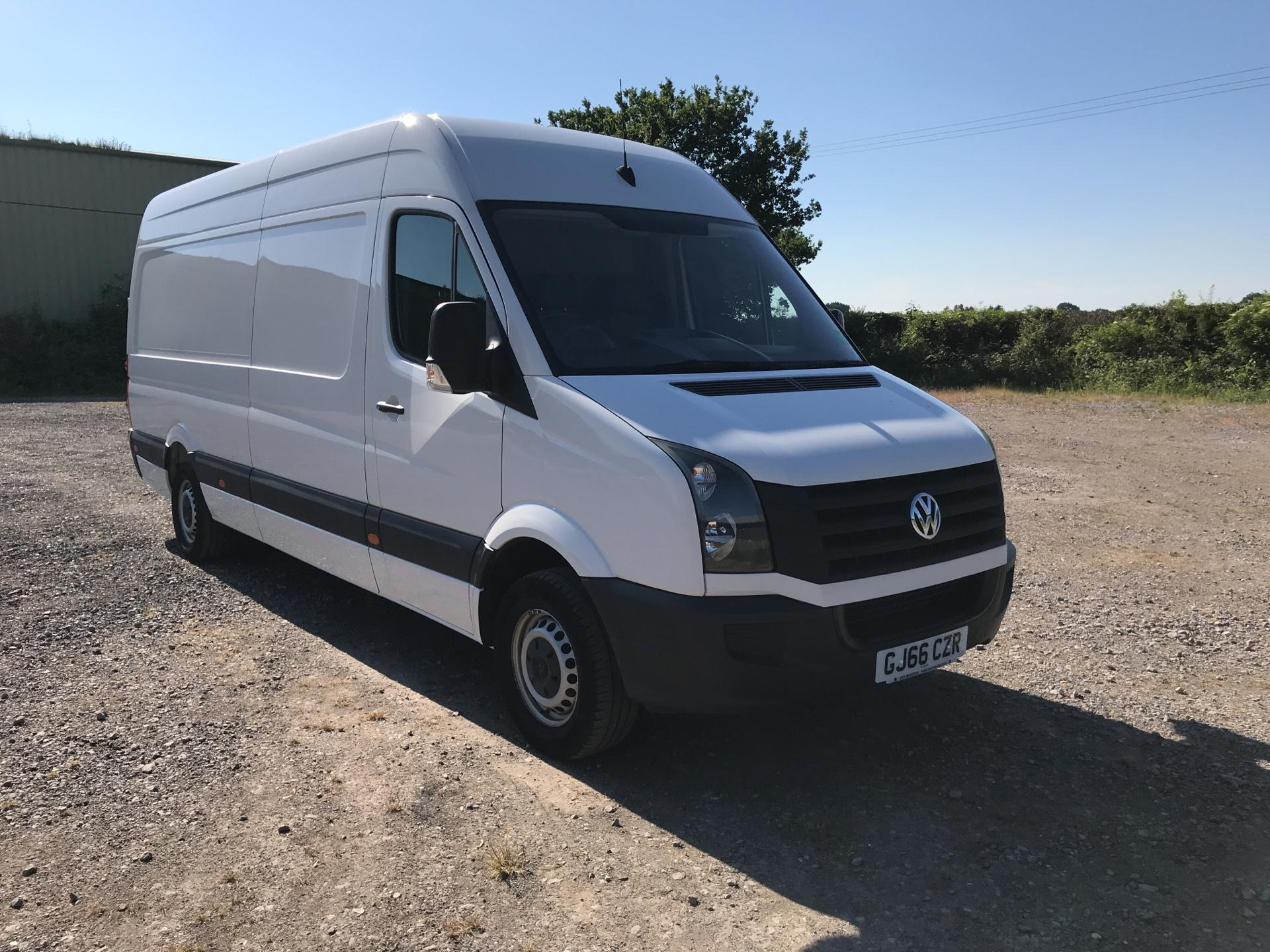 2016 Volkswagen Crafter 2.0 Tdi 136Ps High Roof Van (GJ66CZR)