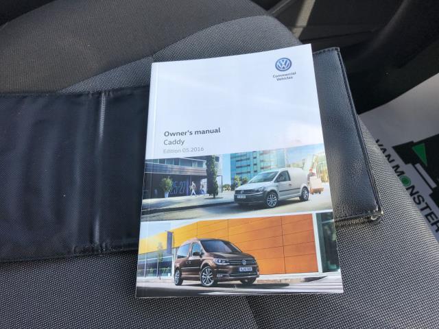 2016 Volkswagen Caddy 2.0TDI 102PS BLUEMOTION TECH STARTLINE EURO 6 (GJ66ETZ) Image 22