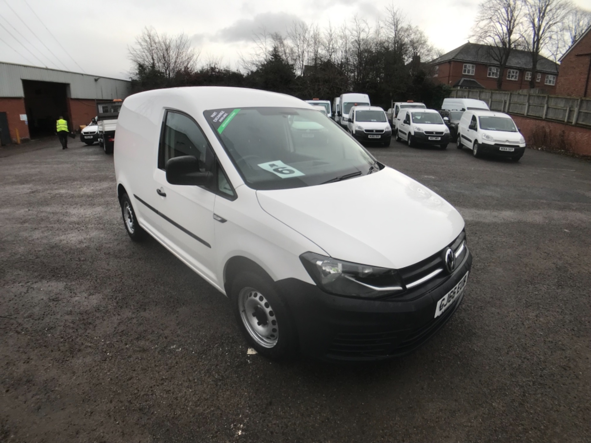 2016 Volkswagen Caddy  2.0 102PS BLUEMOTION TECH 102 STARTLINE EURO 6 (GJ66EUB)