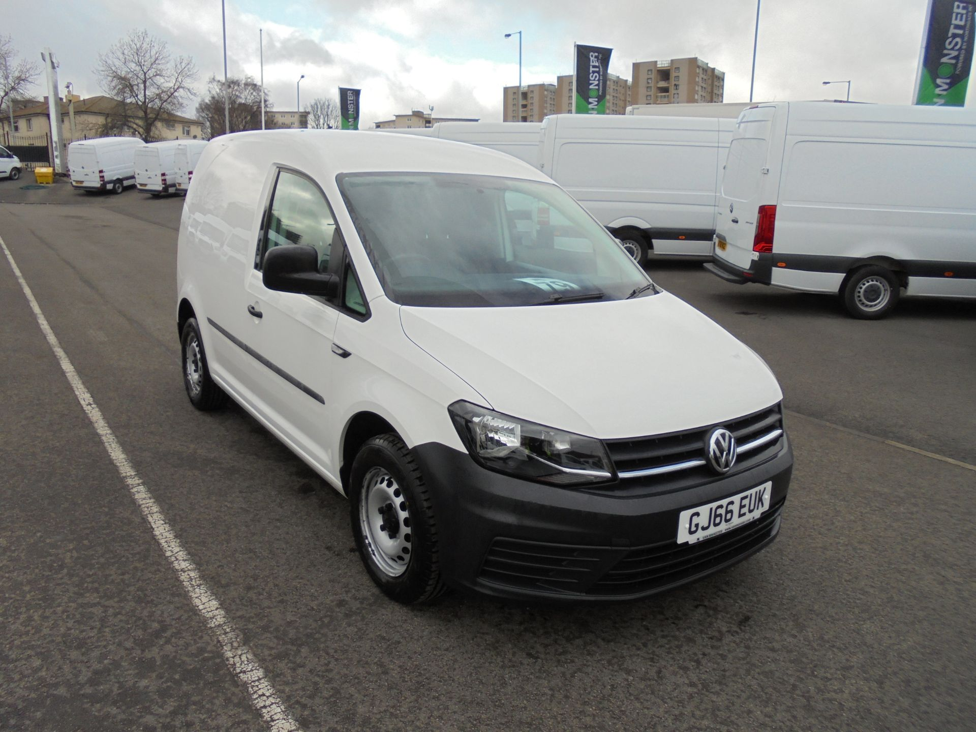 2016 Volkswagen Caddy 2.0 Tdi Bluemotion Tech 102Ps Startline Van (GJ66EUK)
