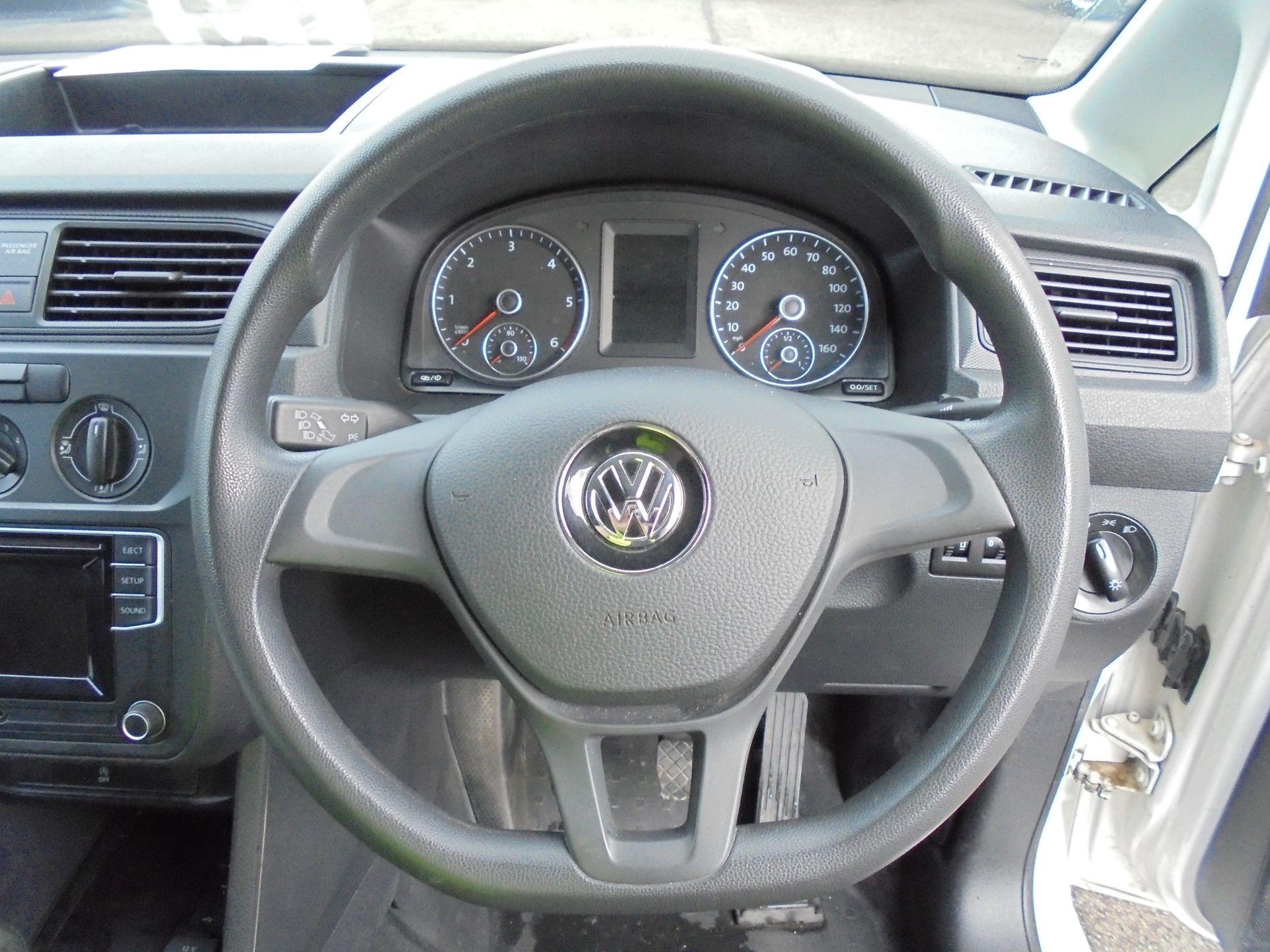 2016 Volkswagen Caddy 2.0 Tdi Bluemotion Tech 102Ps Startline Van (GJ66EUK) Image 12