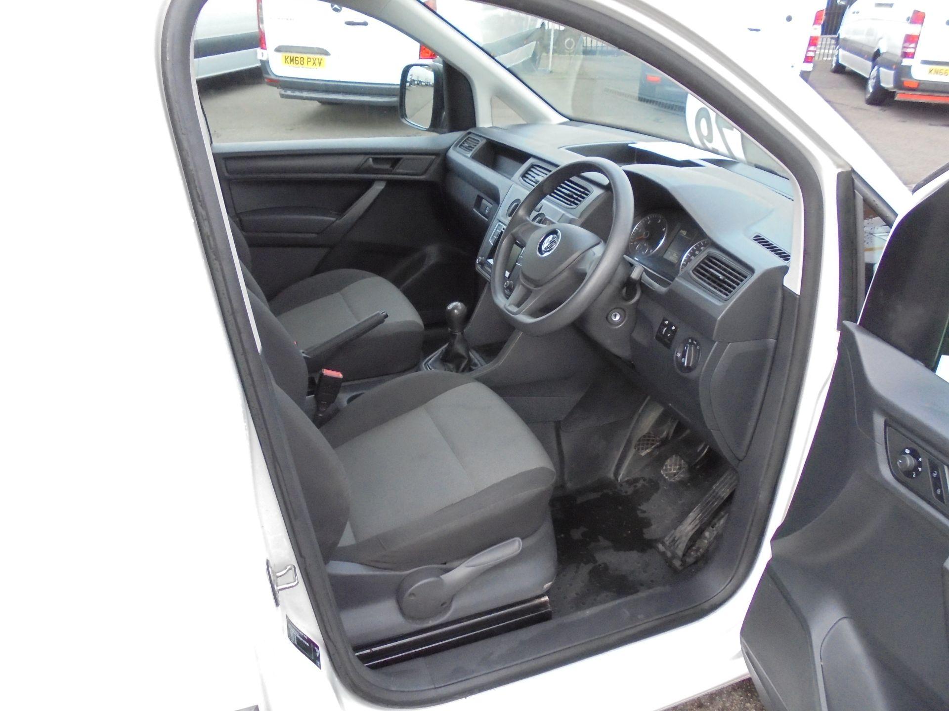 2016 Volkswagen Caddy 2.0 Tdi Bluemotion Tech 102Ps Startline Van (GJ66EUK) Image 10