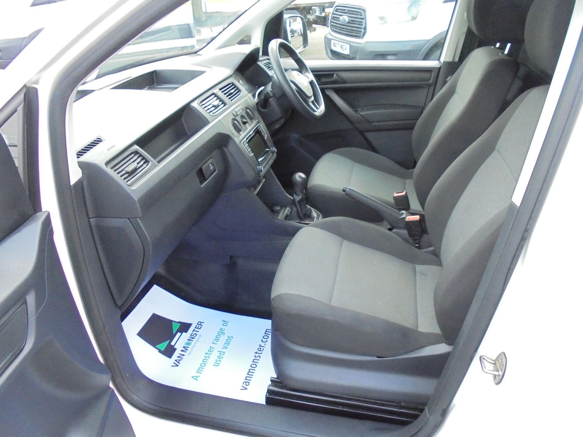 2016 Volkswagen Caddy 2.0 Tdi Bluemotion Tech 102Ps Startline Van (GJ66EUK) Image 23