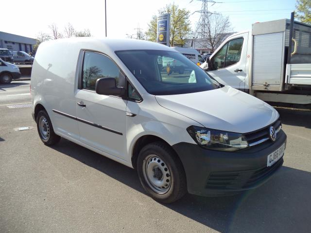 2016 Volkswagen Caddy  L1 H1 2.0TDi 102ps BLUEMOTION TECH STARTLINE VAN EURO 6 (GJ66GKG) Image 1