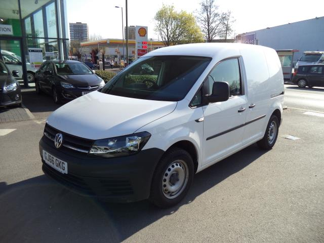 2016 Volkswagen Caddy  L1 H1 2.0TDi 102ps BLUEMOTION TECH STARTLINE VAN EURO 6 (GJ66GKG) Image 2