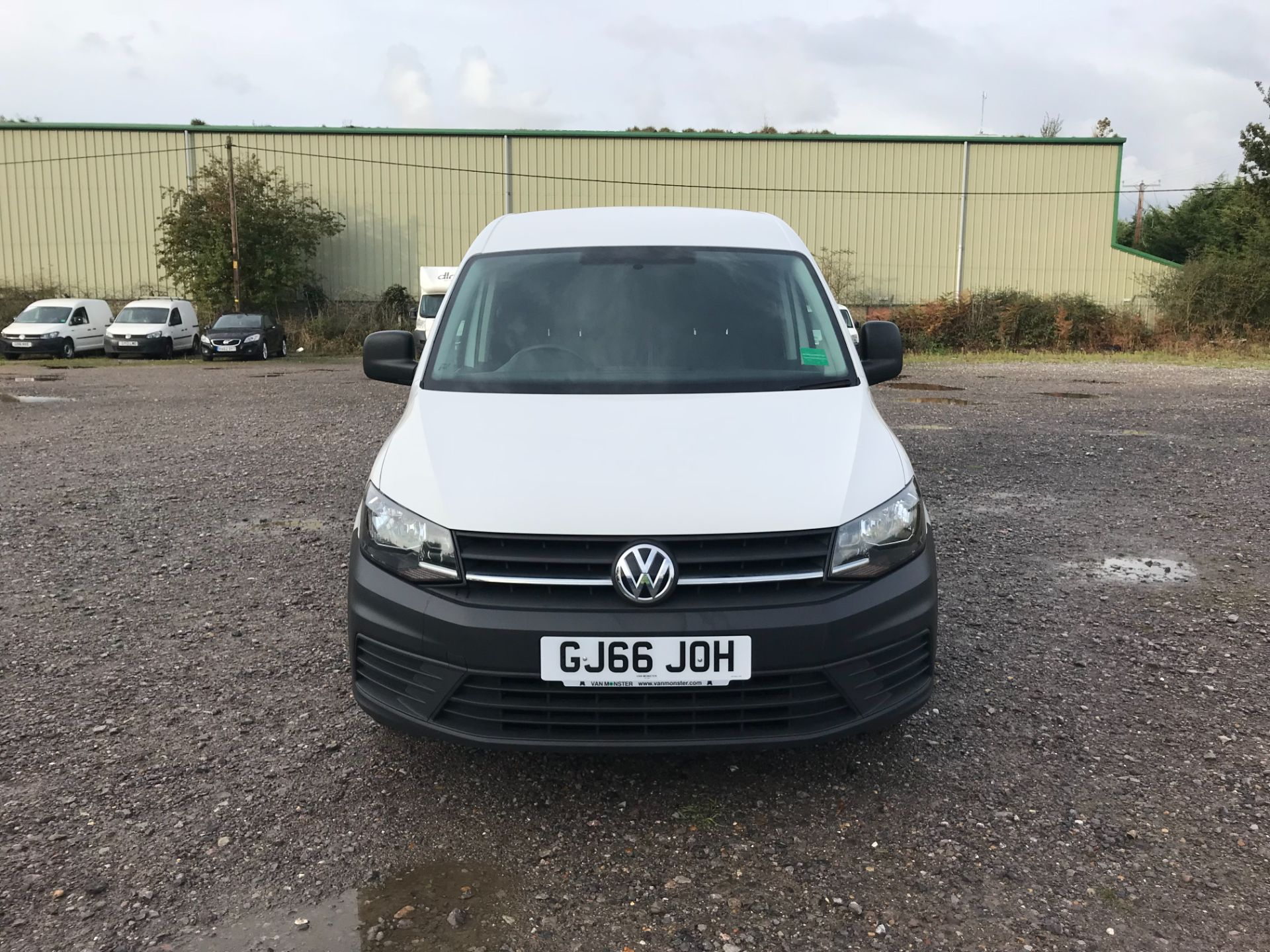 2016 Volkswagen Caddy 2.0 Tdi Bluemotion Tech 102Ps Startline Van (GJ66JOH) Image 2