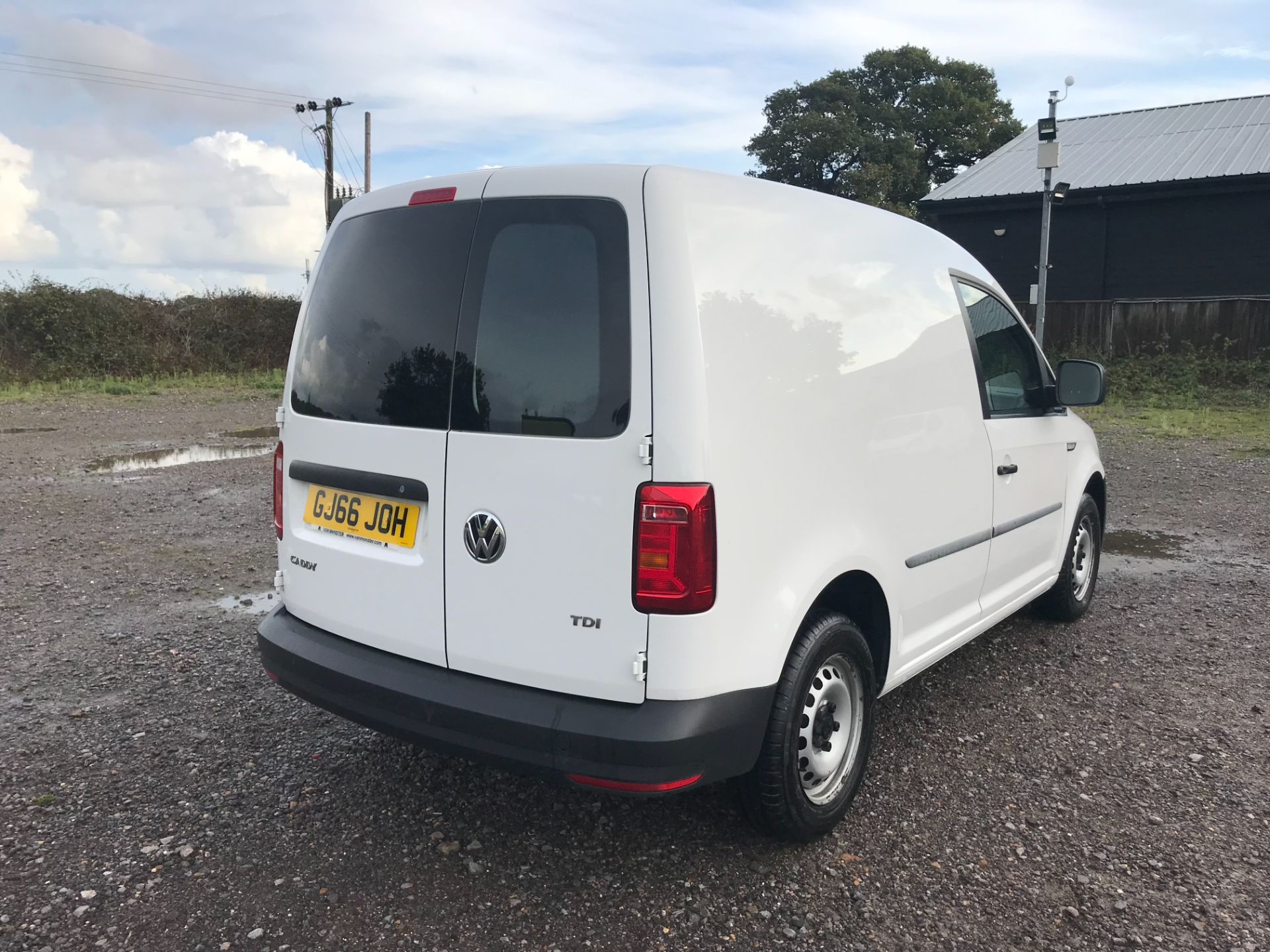 2016 Volkswagen Caddy 2.0 Tdi Bluemotion Tech 102Ps Startline Van (GJ66JOH) Image 4