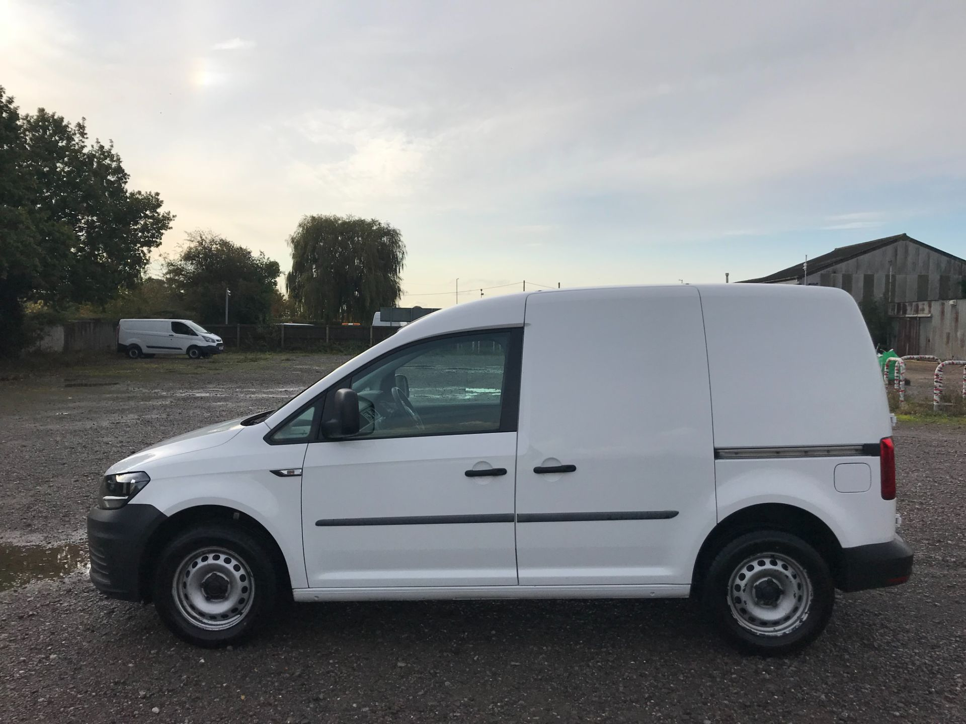 2016 Volkswagen Caddy 2.0 Tdi Bluemotion Tech 102Ps Startline Van (GJ66JOH) Image 8