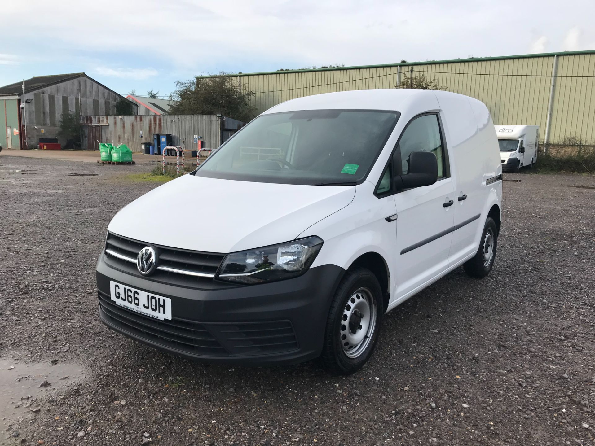 2016 Volkswagen Caddy 2.0 Tdi Bluemotion Tech 102Ps Startline Van (GJ66JOH) Image 3