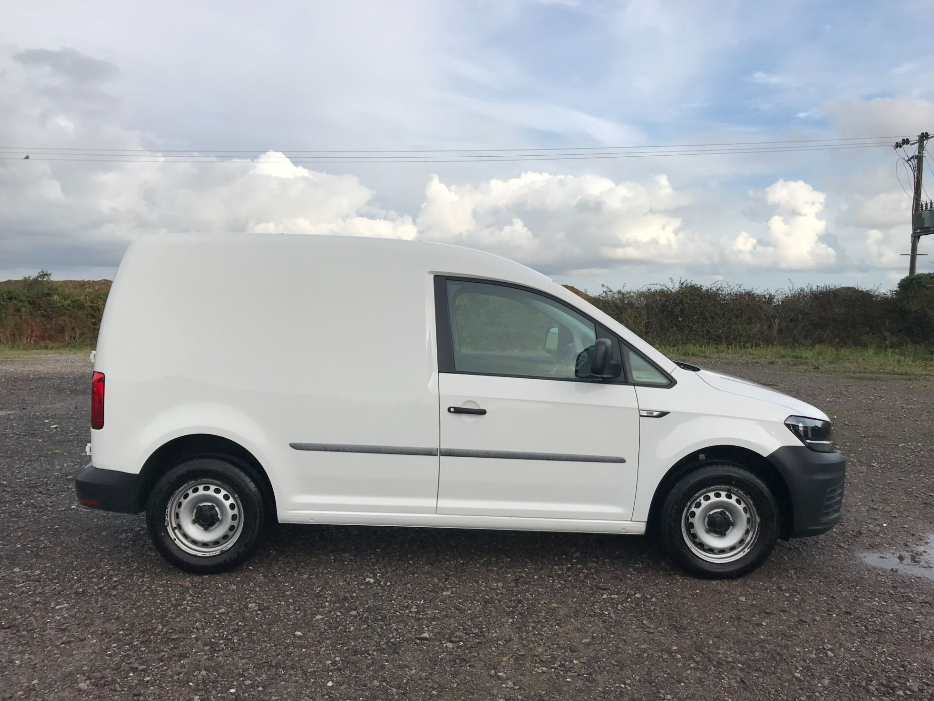 2016 Volkswagen Caddy 2.0 Tdi Bluemotion Tech 102Ps Startline Van (GJ66JOH) Image 7