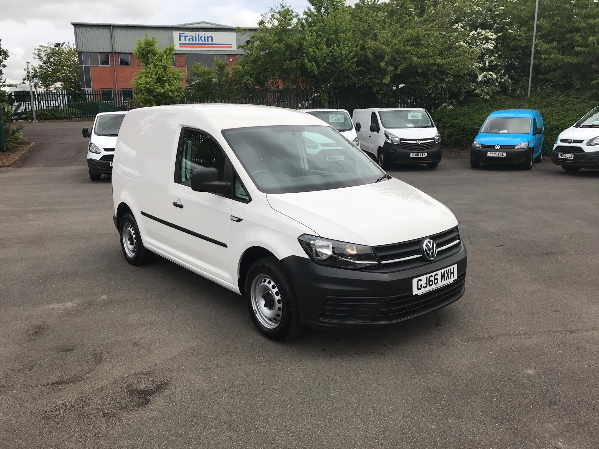 2016 Volkswagen Caddy 2.0 Tdi Bluemotion Tech 75Ps Startline Van (GJ66MXH) Thumbnail 1