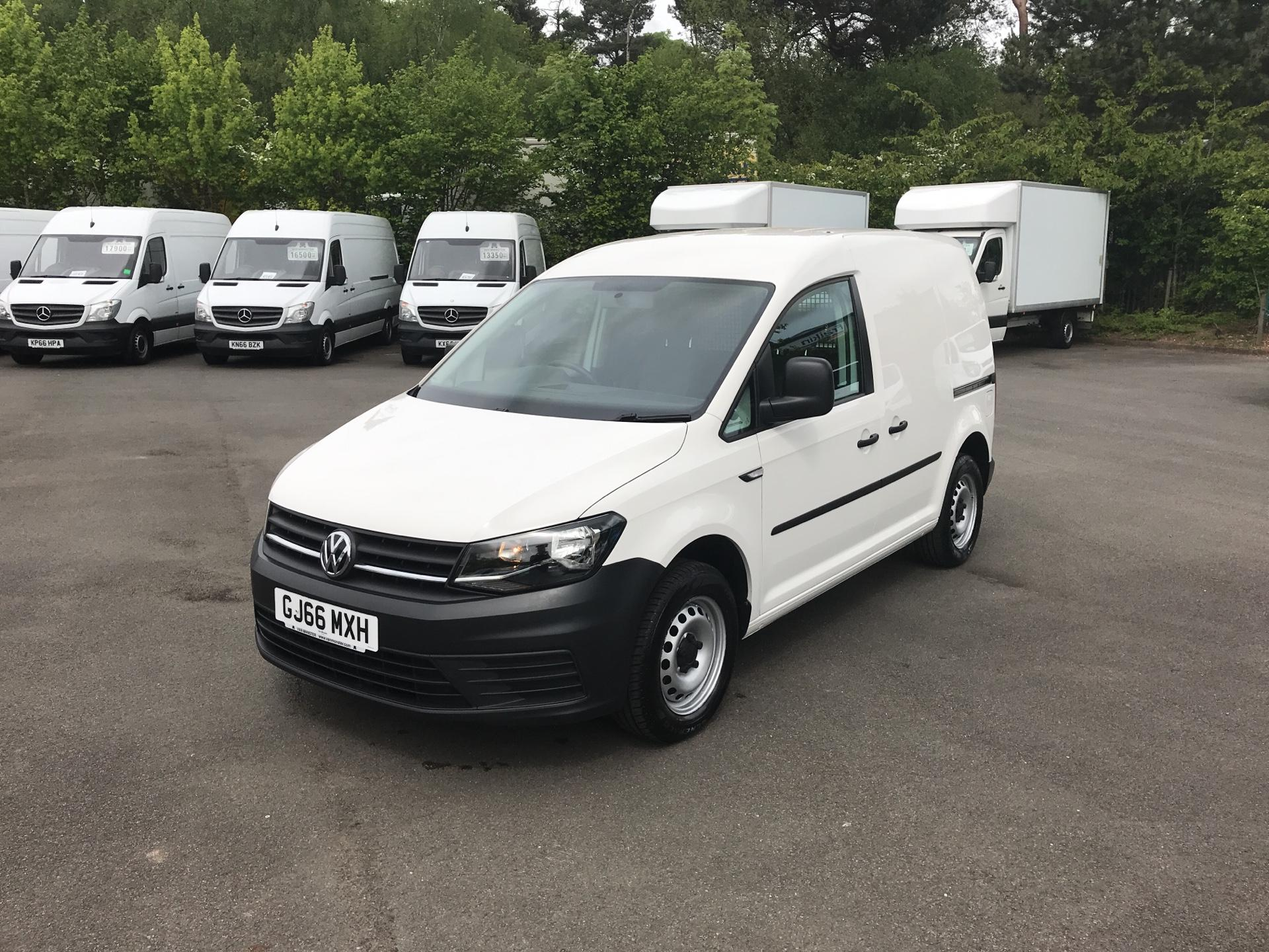 2016 Volkswagen Caddy 2.0 Tdi Bluemotion Tech 75Ps Startline Van (GJ66MXH) Image 7