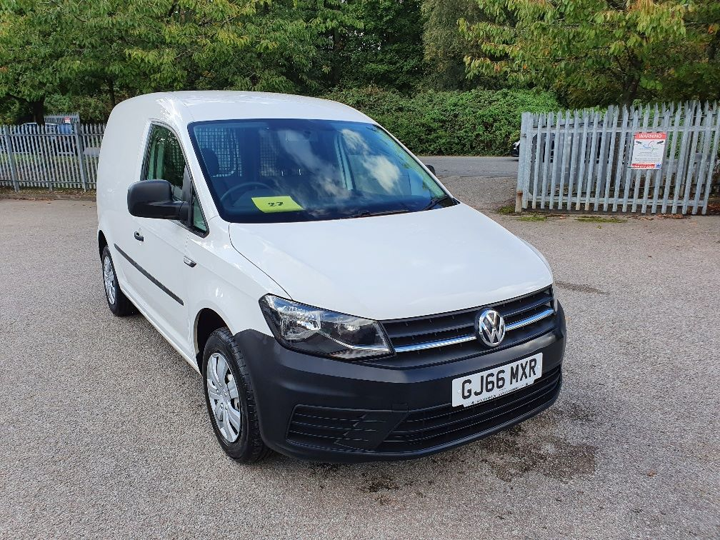 2016 Volkswagen Caddy 2.0 Tdi Bluemotion Tech 75Ps Startline Van (GJ66MXR)
