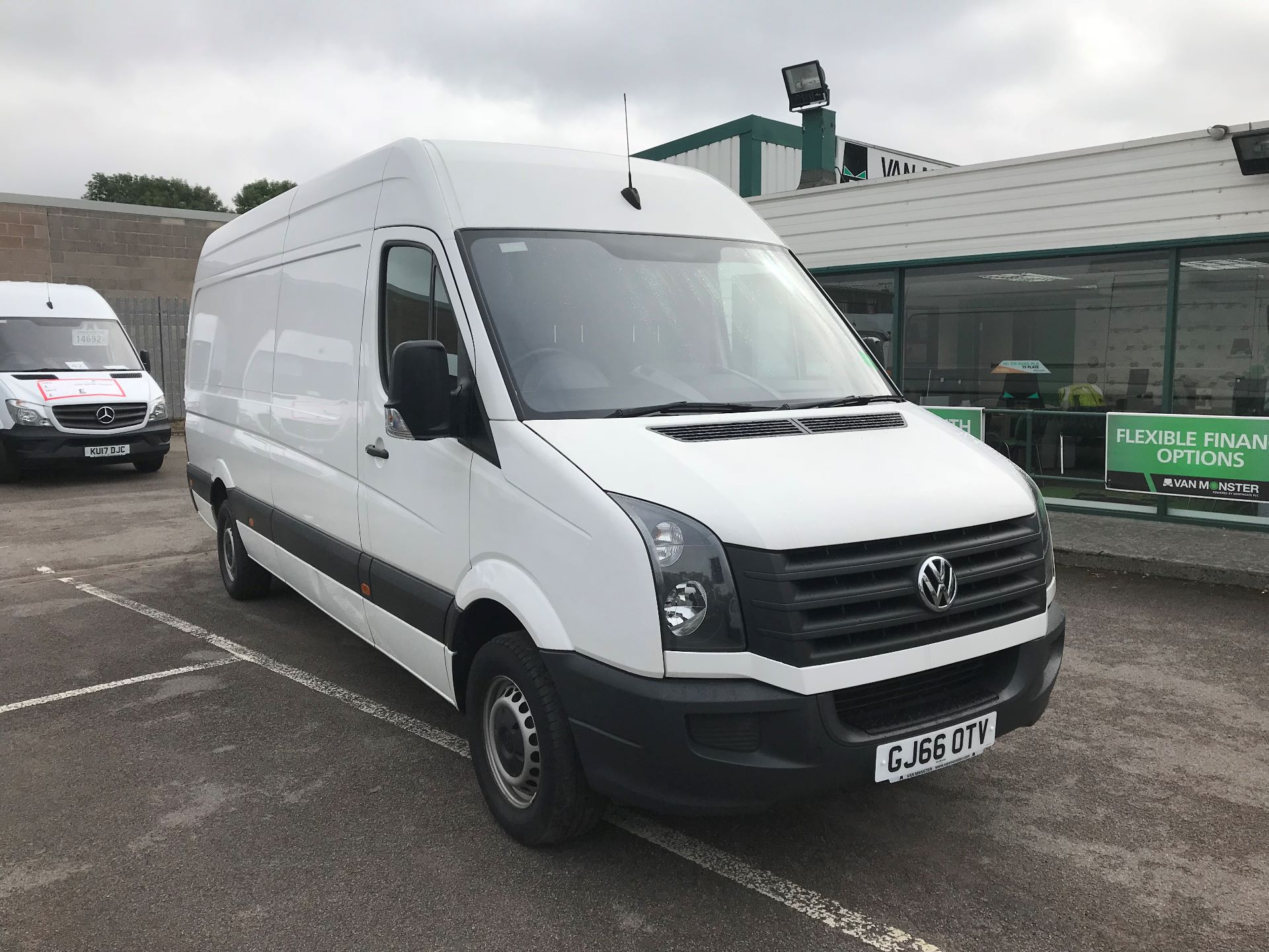 2016 Volkswagen Crafter  CR35 LWB 2.0 TDI 136PS HIGH ROOF EURO 5 (GJ66OTV)