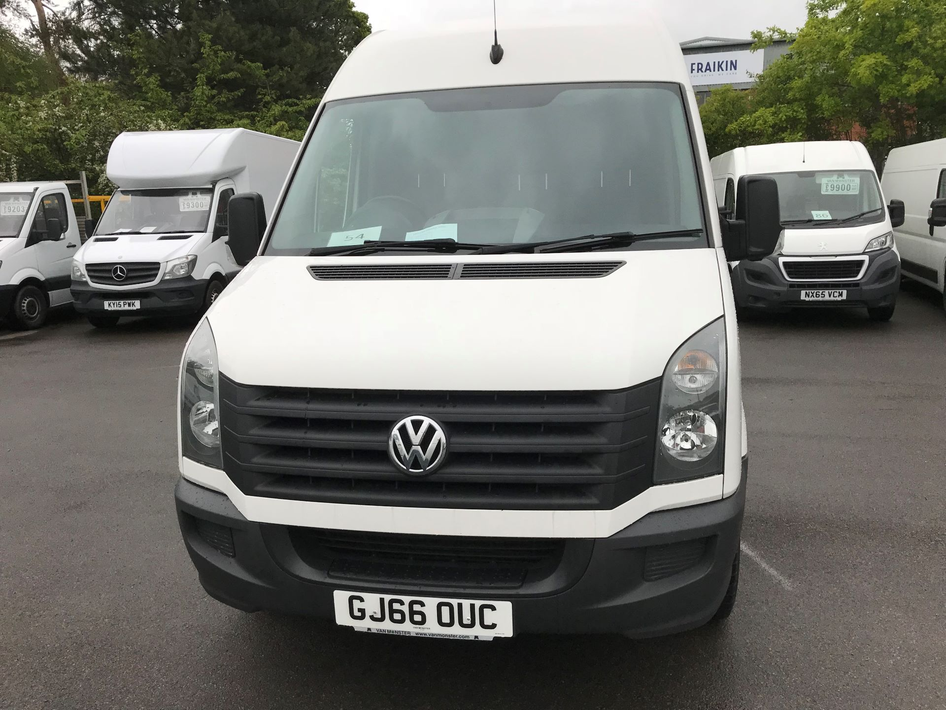 2016 Volkswagen Crafter  CR35 LWB 2.0 TDI 136PS HIGH ROOF EURO 5 (GJ66OUC) Image 17