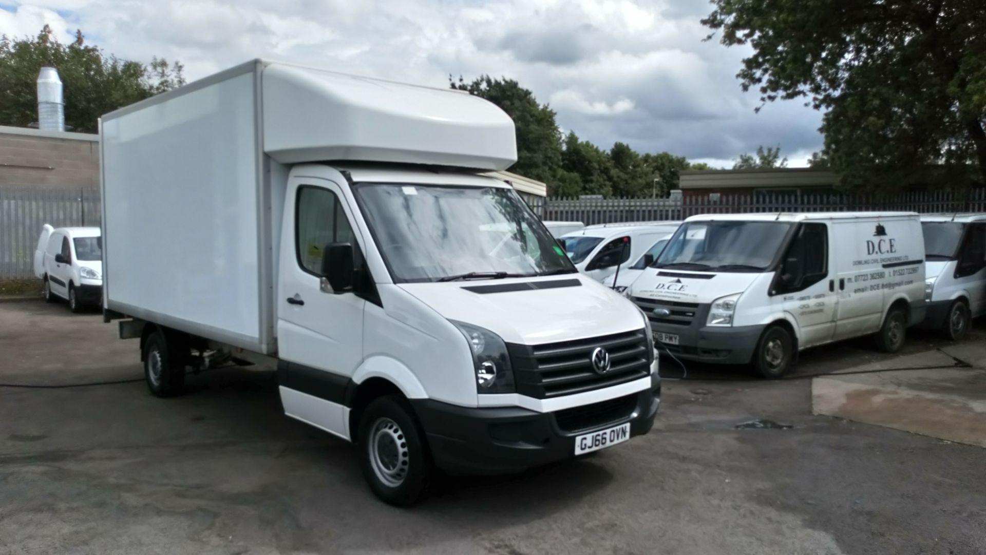 2016 Volkswagen Crafter 2.0 Tdi 136Ps Chassis Cab (GJ66OVN)