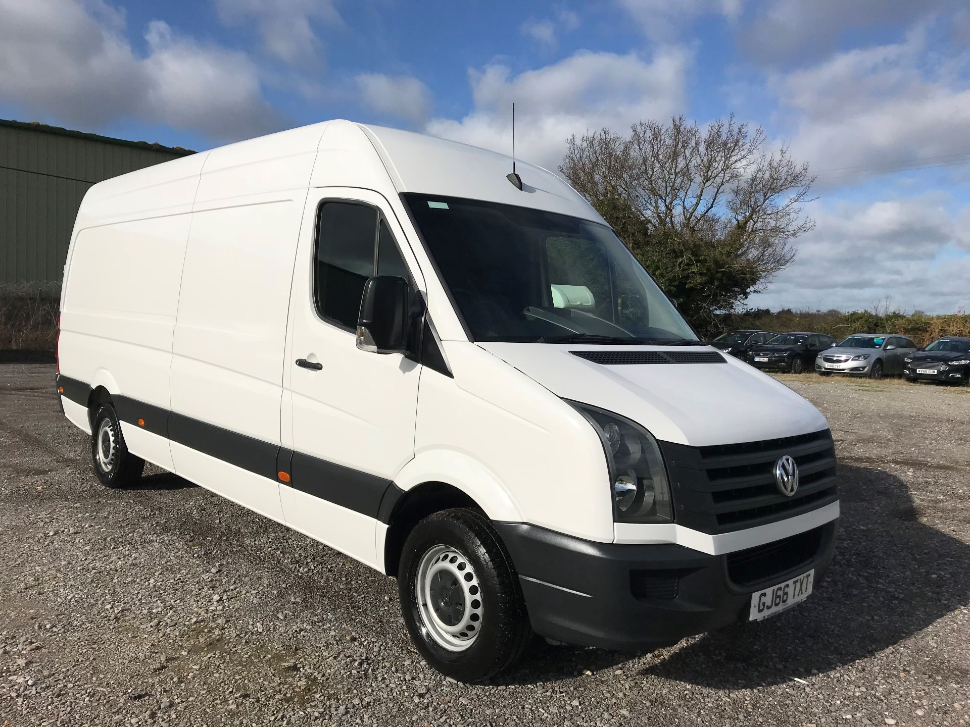 2016 Volkswagen Crafter  CR35 LWB 2.0 TDI 136PS HIGH ROOF EURO 5 (GJ66TXT)