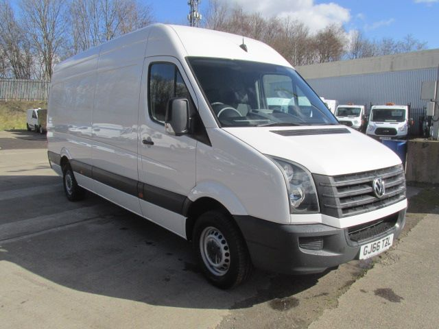 2016 Volkswagen Crafter CR35 2.0 Tdi 136PS LWB High Roof Van (GJ66TZL)
