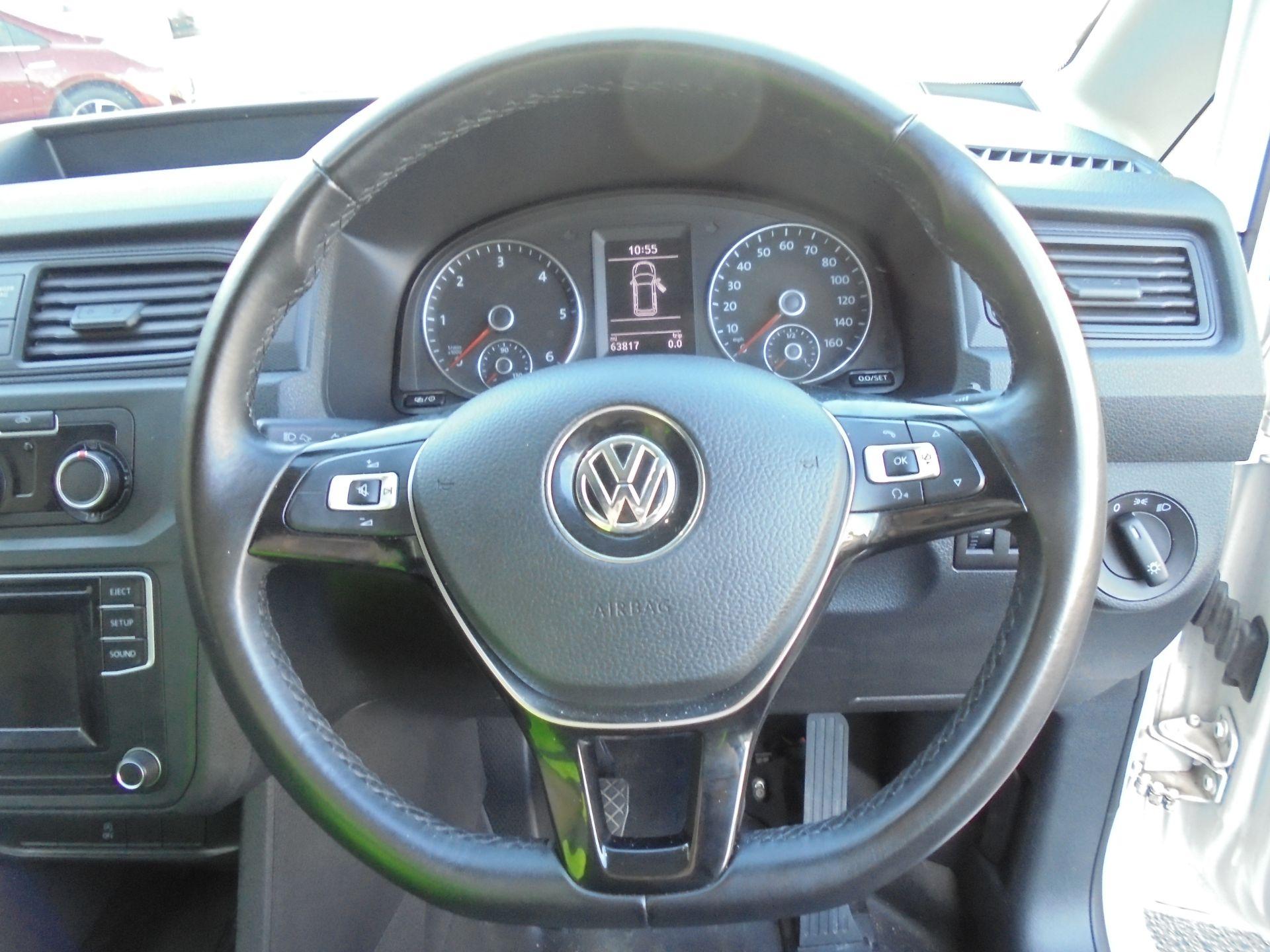 2017 Volkswagen Caddy 2.0 Tdi Bluemotion Tech 102Ps Startline Van (GJ67AOO) Image 11
