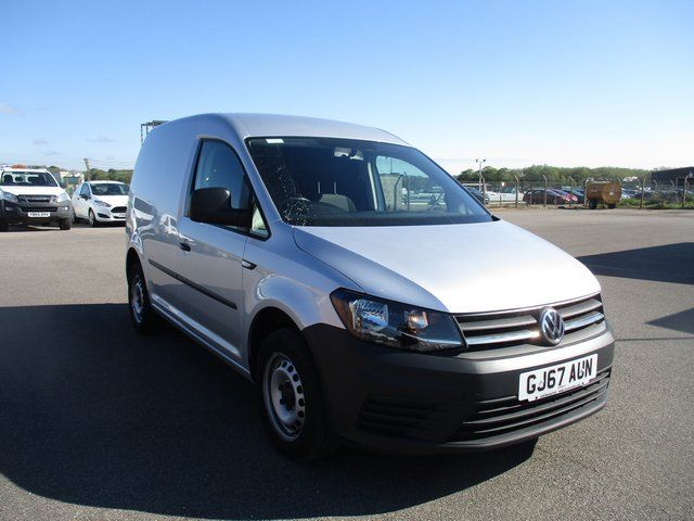 2017 Volkswagen Caddy 2.0 102PS BLUEMOTION TECH 102 STARTLINE EURO 6. AIR CON (GJ67AUN)