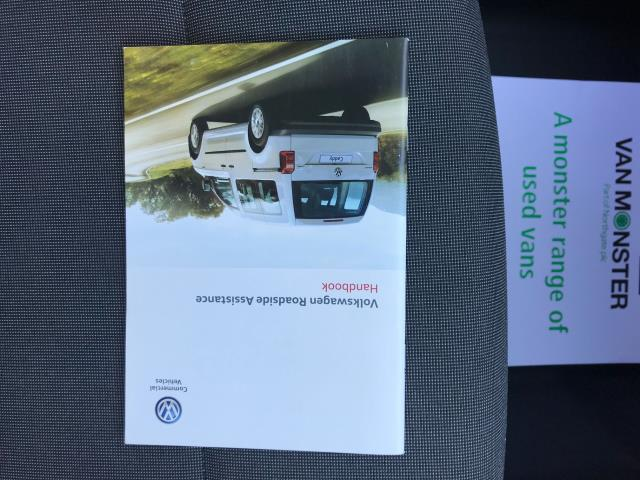 2017 Volkswagen Caddy  2.0 102PS BLUEMOTION TECH 102 STARTLINE EURO 6 (GJ67CPY) Image 43