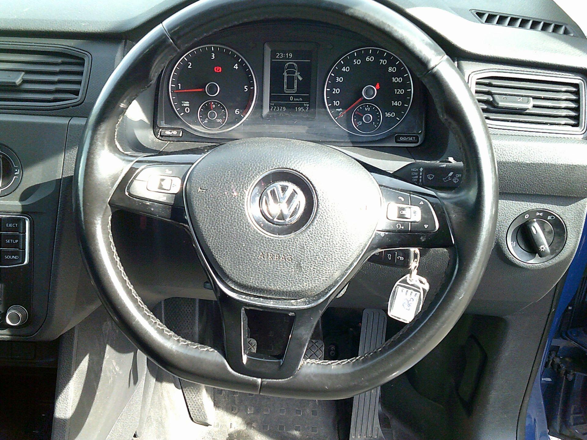 2017 Volkswagen Caddy Maxi 2.0 Tdi Bluemotion Tech 102Ps Startline Van * SPEED RESTRICTED TO 73 MPH * (GJ67CRV) Image 19
