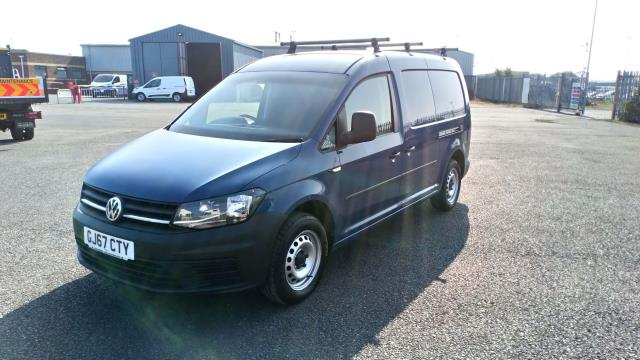 2017 Volkswagen Caddy Maxi 2.0 Tdi Bluemotion Tech 102Ps Startline Van * Speed Restricted to 75 MPH * (GJ67CTY) Image 3