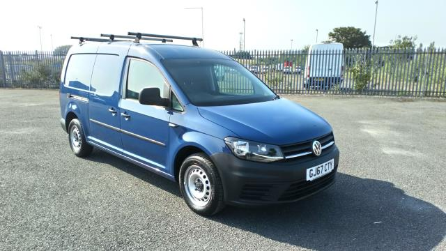 2017 Volkswagen Caddy Maxi 2.0 Tdi Bluemotion Tech 102Ps Startline Van * Speed Restricted to 75 MPH * (GJ67CTY) Image 1