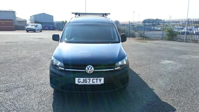 2017 Volkswagen Caddy Maxi 2.0 Tdi Bluemotion Tech 102Ps Startline Van * Speed Restricted to 75 MPH * (GJ67CTY) Image 2