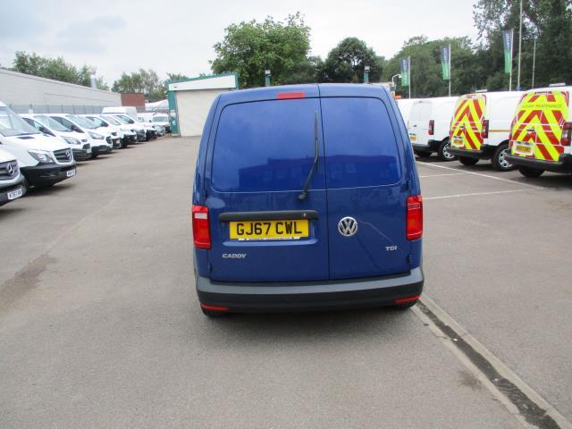 2017 Volkswagen Caddy  2.0 102PS BLUEMOTION TECH 102 STARTLINE EURO 6 **LIMITED TO 70MPH** (GJ67CWL) Image 4