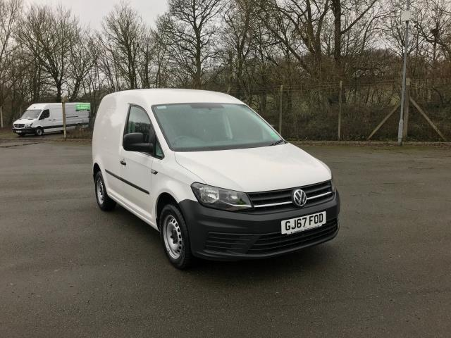 2017 Volkswagen Caddy  2.0 102PS BLUEMOTION TECH 102 STARTLINE EURO 6 (GJ67FOD)