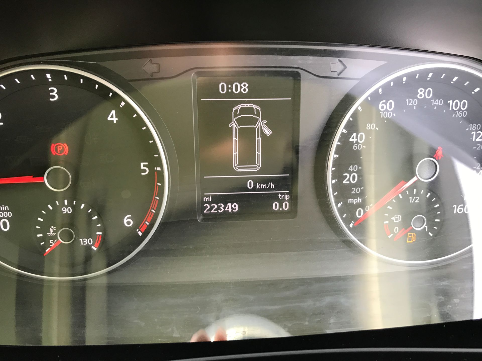 2017 Volkswagen Transporter  T28 T6 SWB 2.0TDI BMT 102PS HIGHLINE EURO 6  (GJ67NFT) Image 6