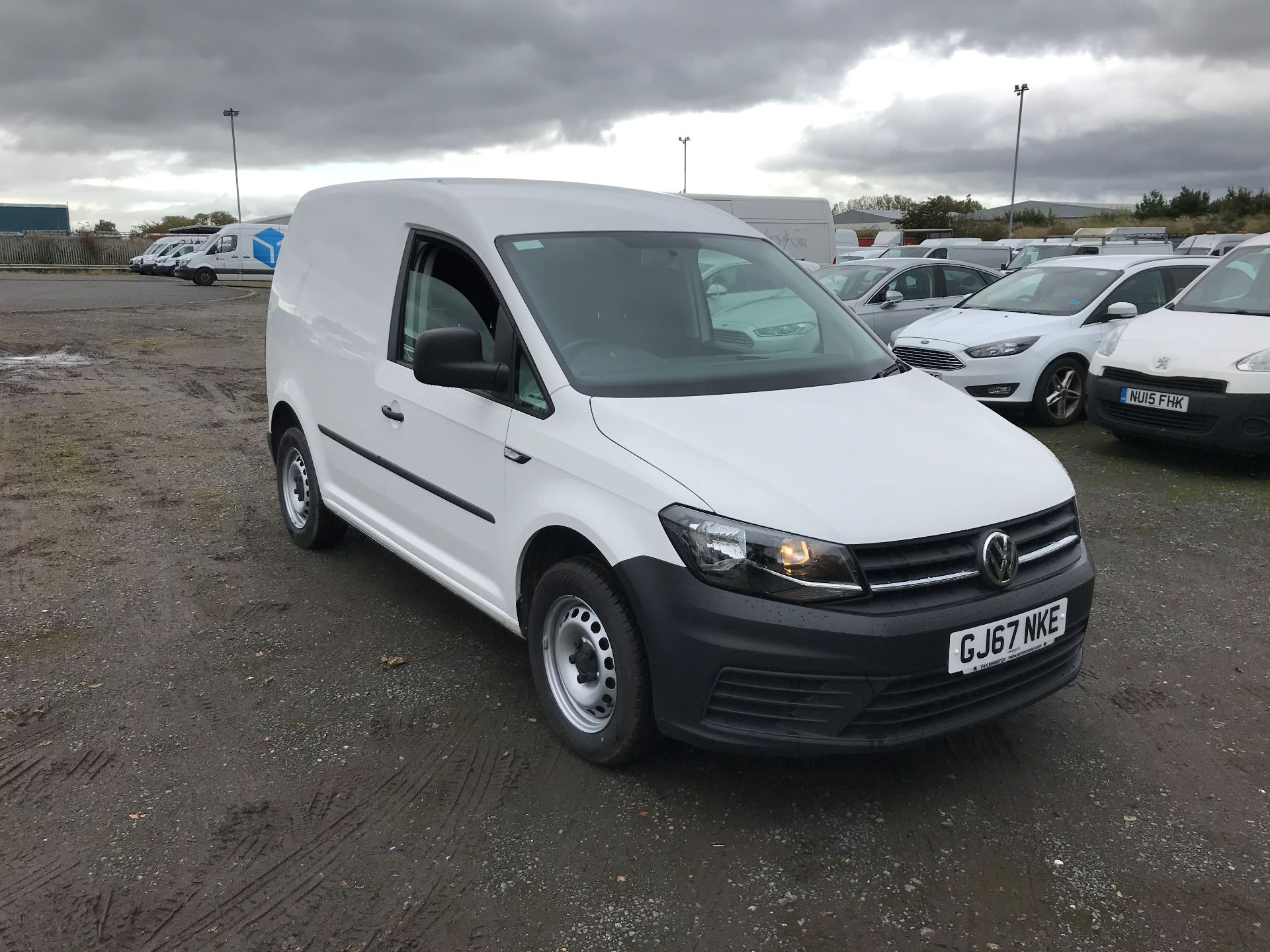 2017 Volkswagen Caddy 2.0 Tdi Bluemotion Tech 102Ps Startline Van (GJ67NKE)
