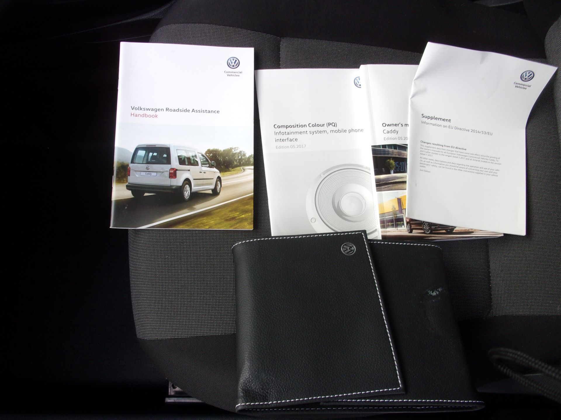 2017 Volkswagen Caddy 2.0 TDI 102PS BMT STARTLINE VAN EURO 6 (GJ67NKK) Image 14