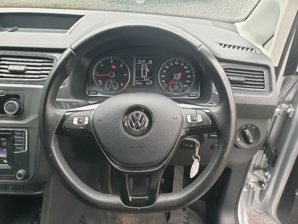 2017 Volkswagen Caddy 2.0TDI BLUEMOTION TECH 102PS STARTLINE EURO 6, AIR CON (GJ67UEB) Image 18