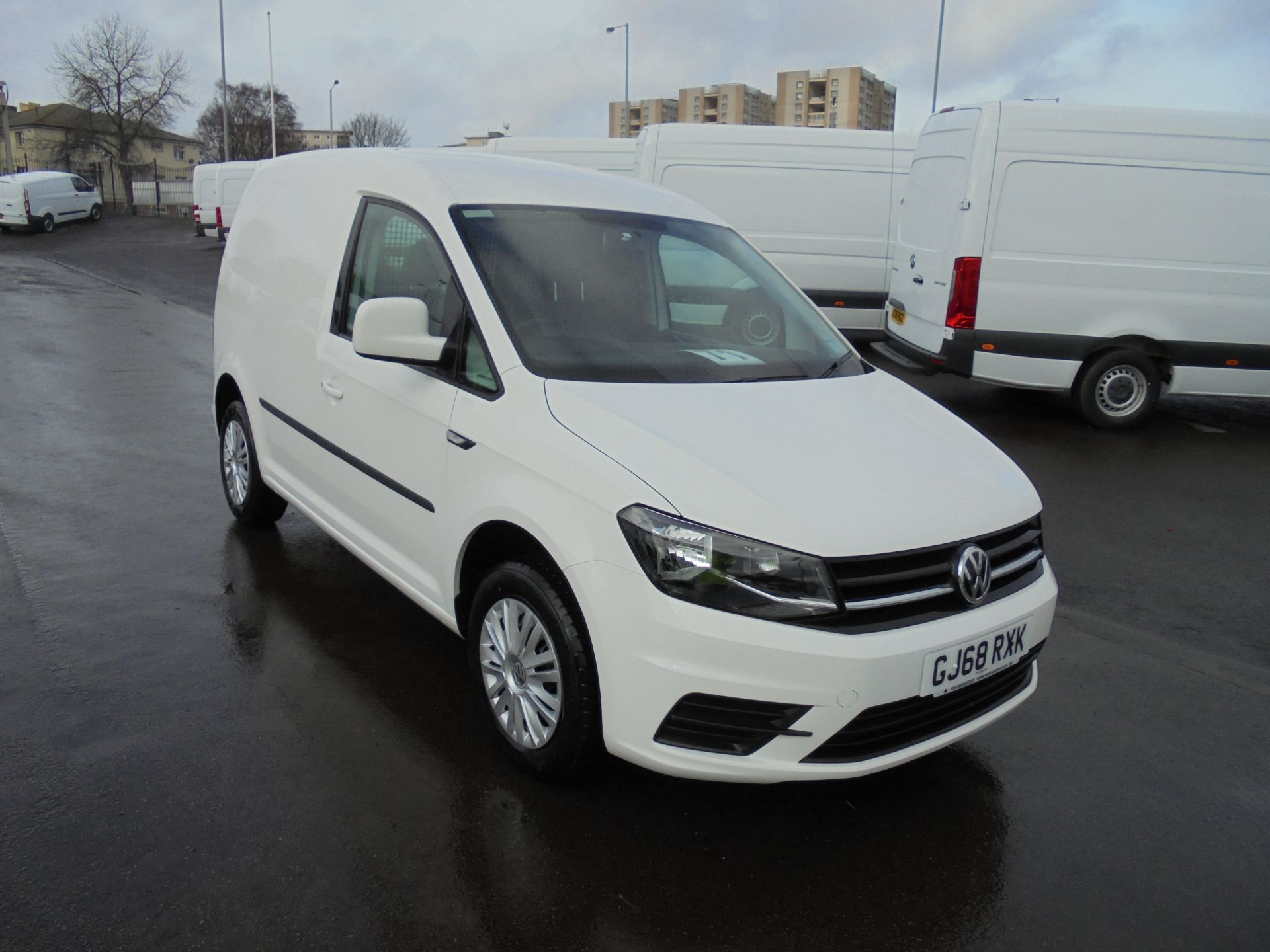 2018 Volkswagen Caddy 2.0 Tdi Bluemotion Tech 102Ps Trendline [Ac] Van (GJ68RXK) Image 1