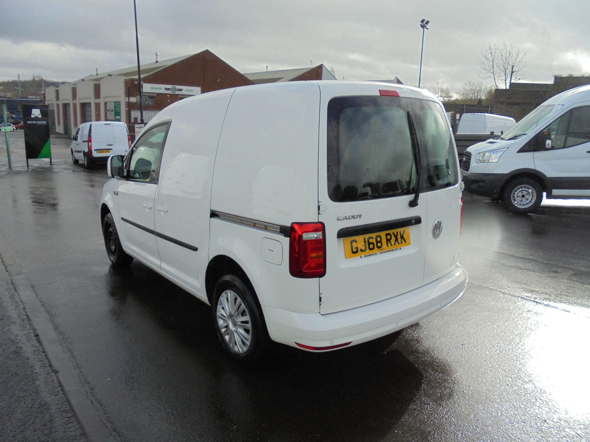 2018 Volkswagen Caddy 2.0 Tdi Bluemotion Tech 102Ps Trendline [Ac] Van (GJ68RXK) Image 5