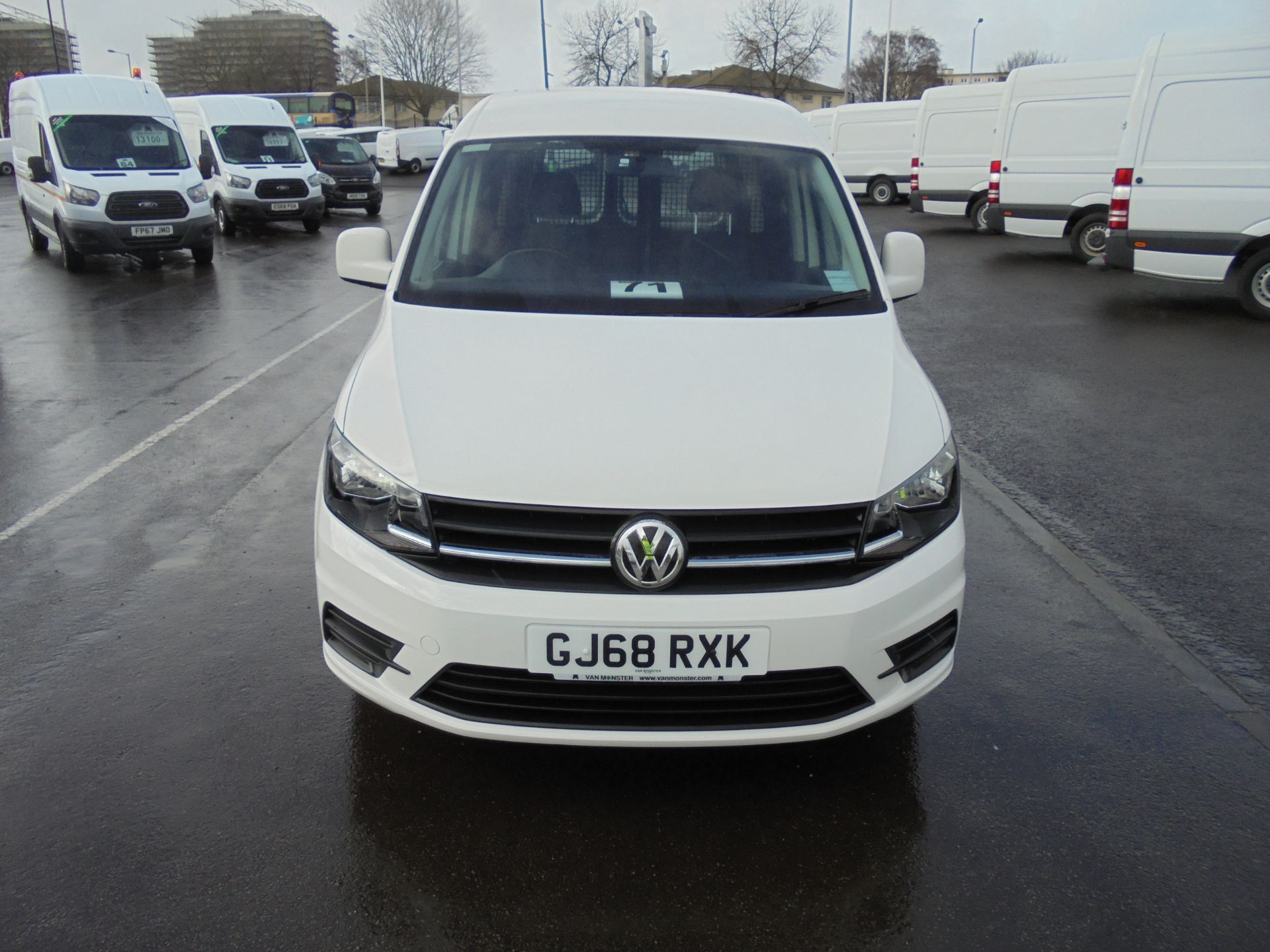 2018 Volkswagen Caddy 2.0 Tdi Bluemotion Tech 102Ps Trendline [Ac] Van (GJ68RXK) Image 2