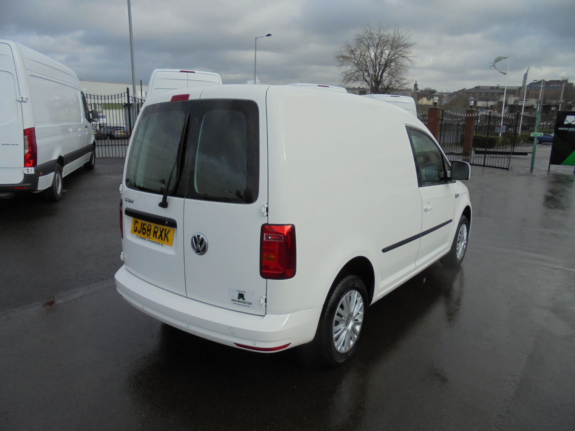 2018 Volkswagen Caddy 2.0 Tdi Bluemotion Tech 102Ps Trendline [Ac] Van (GJ68RXK) Image 7