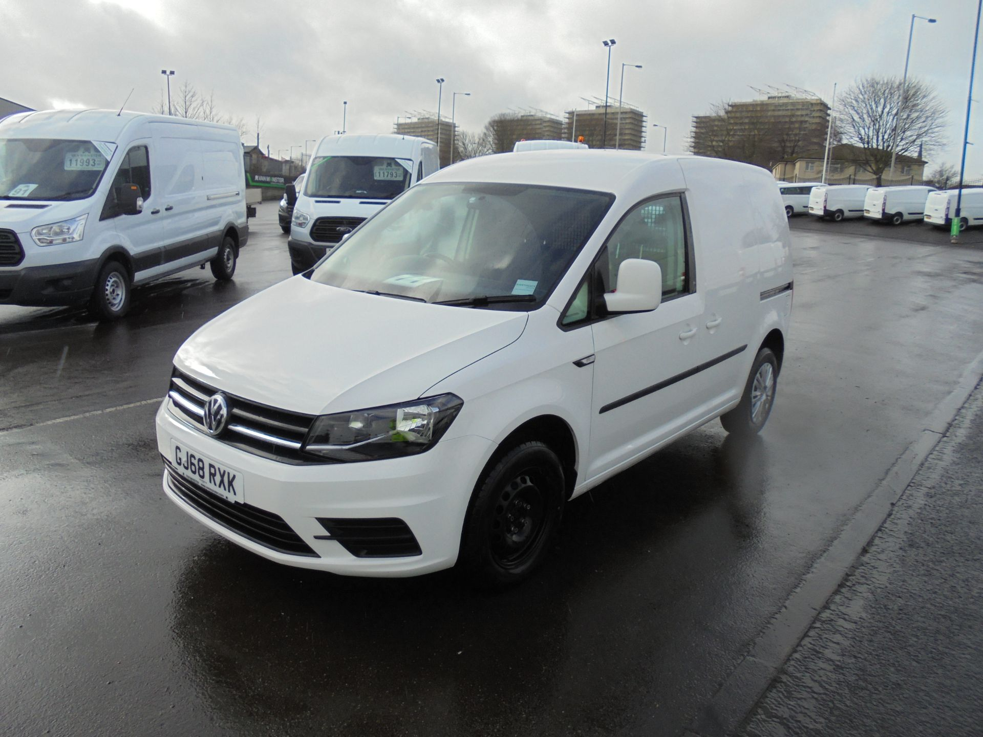 2018 Volkswagen Caddy 2.0 Tdi Bluemotion Tech 102Ps Trendline [Ac] Van (GJ68RXK) Image 3