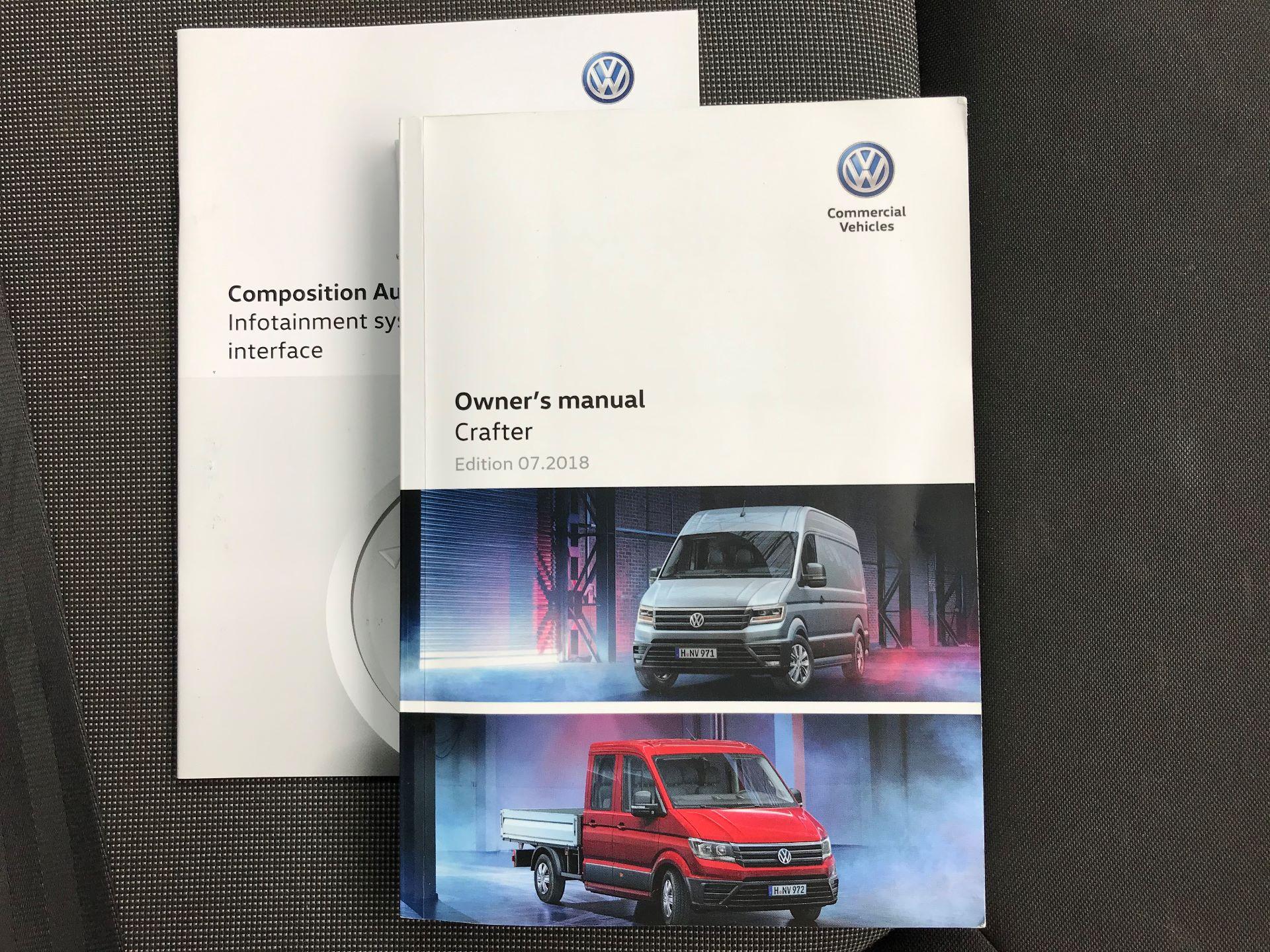 2018 Volkswagen Crafter 2.0 TDI 140PS STARTLINE LWB HIGH ROOF VAN EURO 6 (GJ68ZRR) Image 22