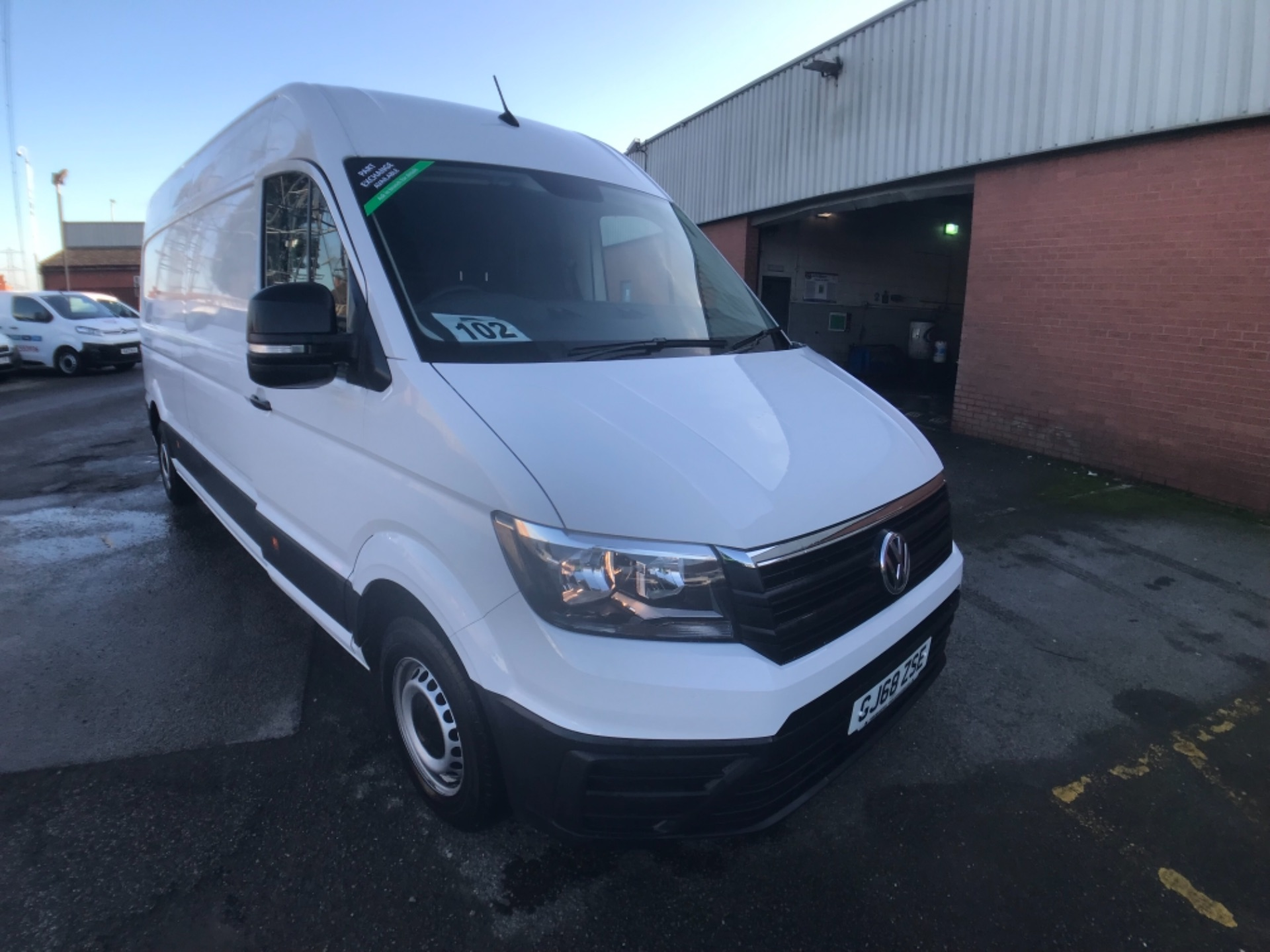 2018 Volkswagen Crafter 2.0 Tdi 140Ps Startline High Roof Van (GJ68ZSE)