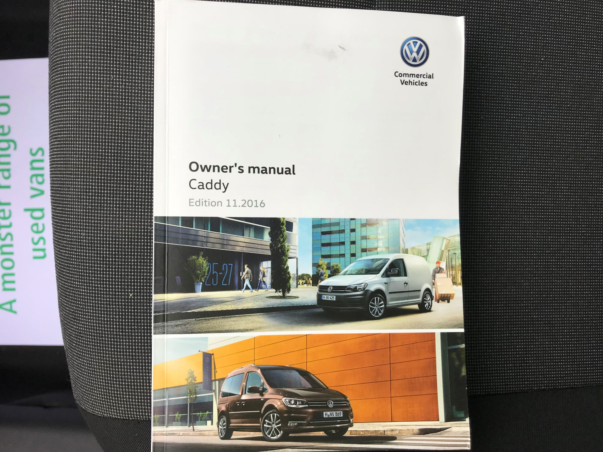 2017 Volkswagen Caddy  2.0 102PS BLUEMOTION TECH 102 STARTLINE EURO 6 (GK17VBT) Image 35