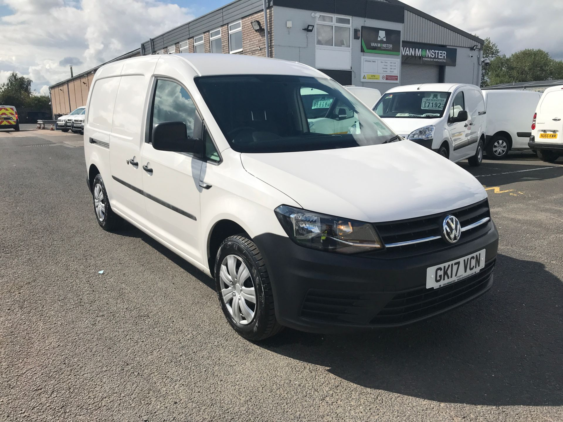 2017 Volkswagen Caddy Maxi 2.0TDI BLUEMOTION TECH 102PS STARTLINE EURO 6 (GK17VCN)