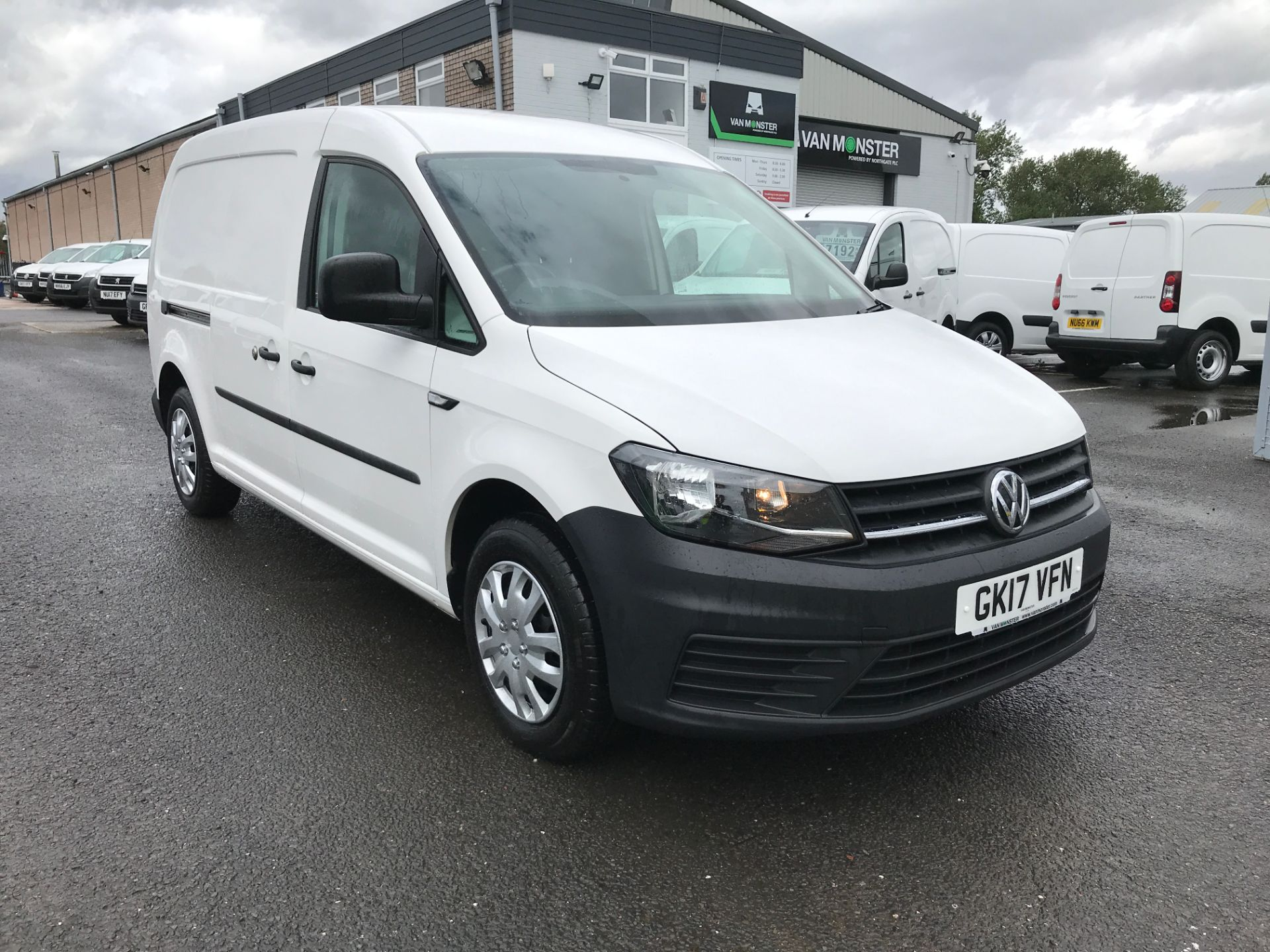 2017 Volkswagen Caddy Maxi 2.0TDI BLUEMOTION TECH 102PS STARTLINE EURO 6 (GK17VFN)