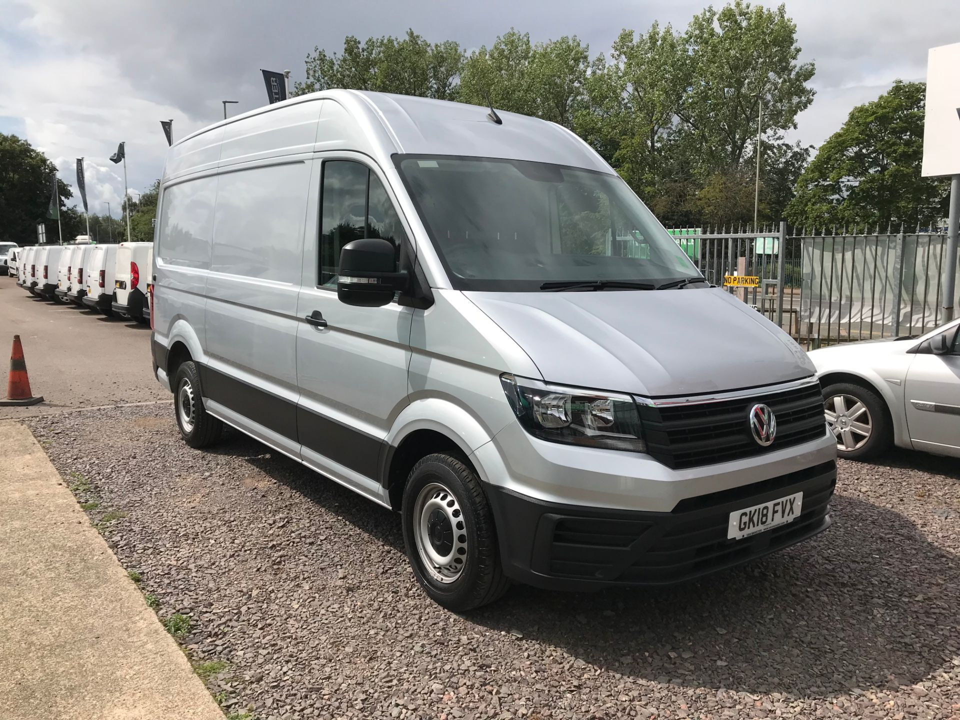 2018 Volkswagen Crafter  CR35 MWB 2.0 TDI 140PS HIGH ROOF EURO 6 (SILVER) (GK18FVX)