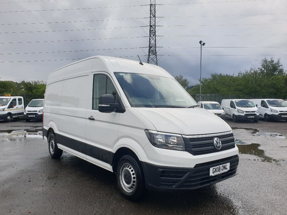 2018 Volkswagen Crafter CR35 2.0 TDI MWB HIGH ROOF 140PS STARTLINE EURO 6 (GK18ONL) Thumbnail 1