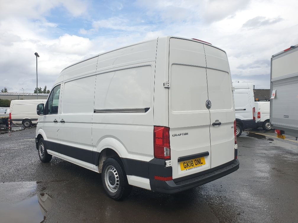 2018 Volkswagen Crafter CR35 2.0 TDI MWB HIGH ROOF 140PS STARTLINE EURO 6 (GK18ONL) Thumbnail 8